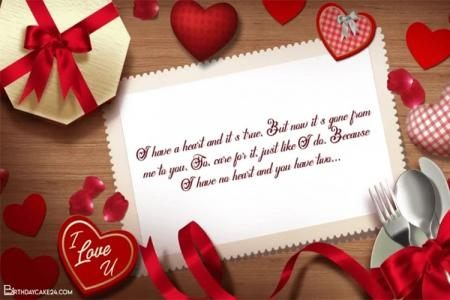 Happy Valentine's Day Greetings Video Maker