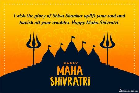 Happy Maha Shivratri Wishes Greeting Cards 2021