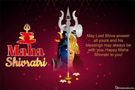 Free Maha Shivratri Greeting Cards Images Download