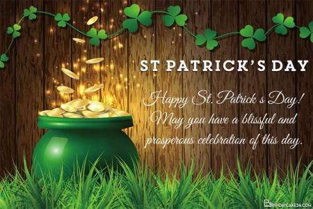 St. Patrick's Day Greeting Card Images Download