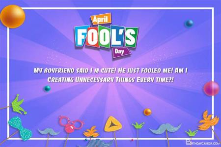 Create Colorful April Fools' Day Cards Online