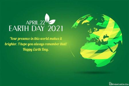 Free Earth Day Wishes Greeting Card Images Download