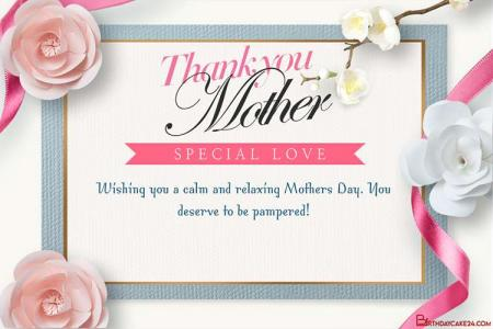 Create Mother's Day Card With Paper Cut 3D Art Style