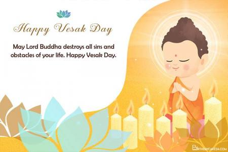 Free Happy Buddha Purnima Day Cards and E-Cards