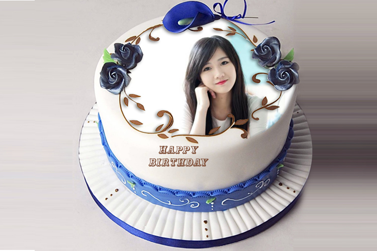 Lovely birthday cake photo frame m4hsunfo