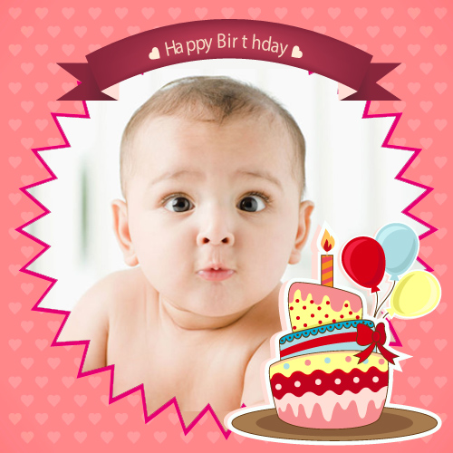 Birthday Photo Frames - Free Birthday Frame with Your Photo