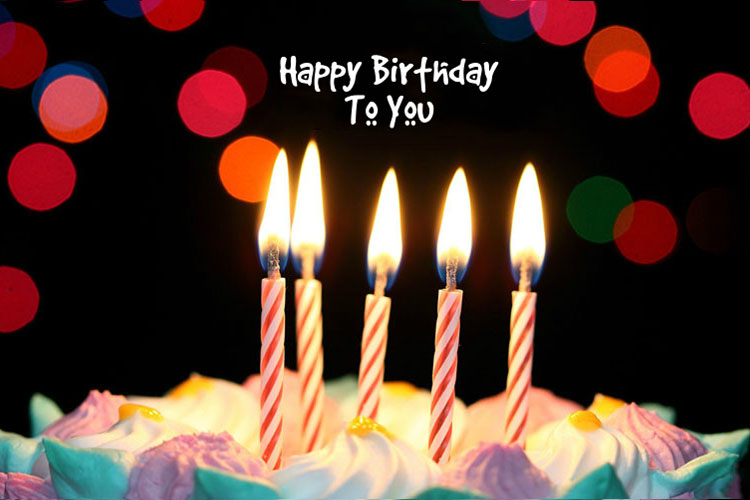 Create Birthday Cards With Candles And Birthday Cakes