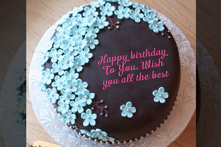 Awe Inspiring Happy Birthday Cake With Name Edit Funny Birthday Cards Online Alyptdamsfinfo