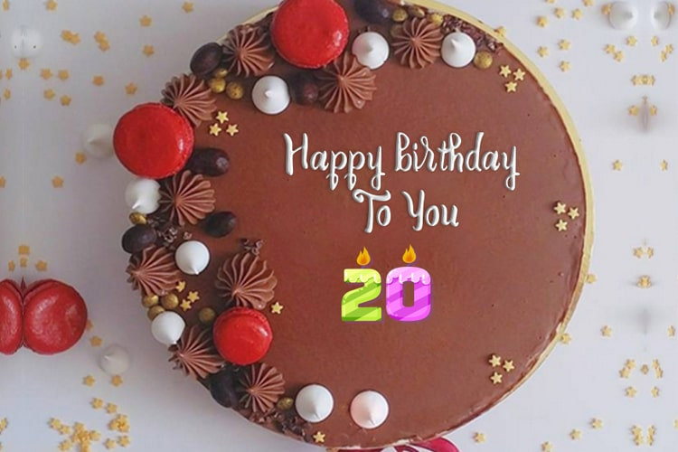 Birthday Cake Images With Age Numbers And Name