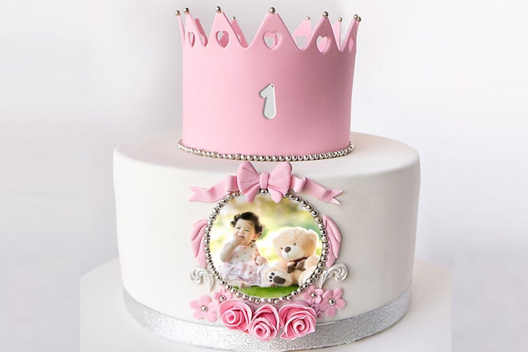 Tremendous Princess Birthday Cake For Baby With Pictures Funny Birthday Cards Online Unhofree Goldxyz