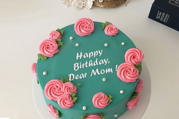 Enjoyable Amazing Birthday Cake For Mom With Name Funny Birthday Cards Online Alyptdamsfinfo