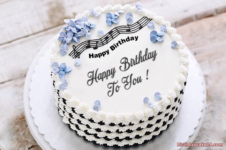 Amazing Best Music Birthday Cake With Name Edit Funny Birthday Cards Online Alyptdamsfinfo