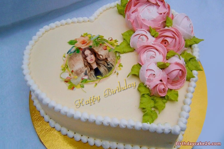 Photo Collage on Beautiful Birthday Cakes Online