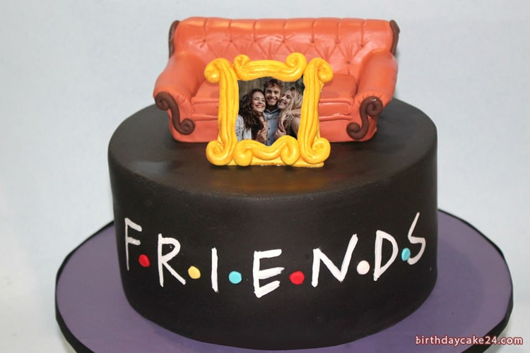 Awesome Birthday Cake For Best Friends With Photo Edit Funny Birthday Cards Online Chimdamsfinfo