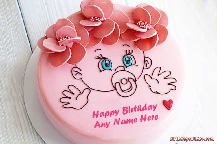 Groovy Lovely Kids Birthday Cake Pictures With Name Personalised Birthday Cards Beptaeletsinfo