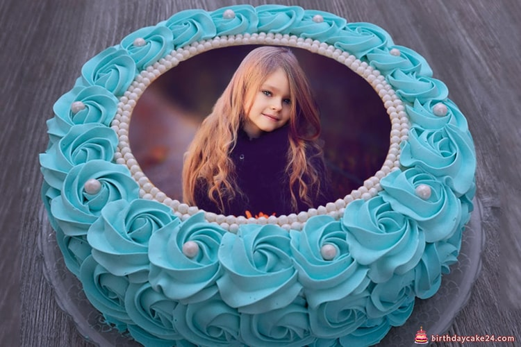 94 Birthday Cake Online Edit Photo Frame With And