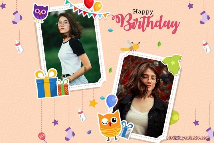Happy Birthday Photo Editing Online