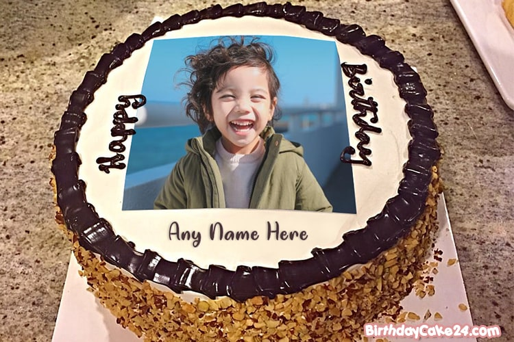 Best Chocolate Birthday Cake Pictures With Name And Photo Edit