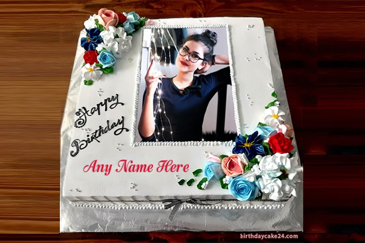 Incredible Create Birthday Cake With Photo And Names Funny Birthday Cards Online Sheoxdamsfinfo