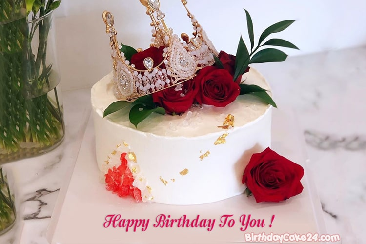 Awesome Queen Birthday Cake With Name Generator Funny Birthday Cards Online Alyptdamsfinfo