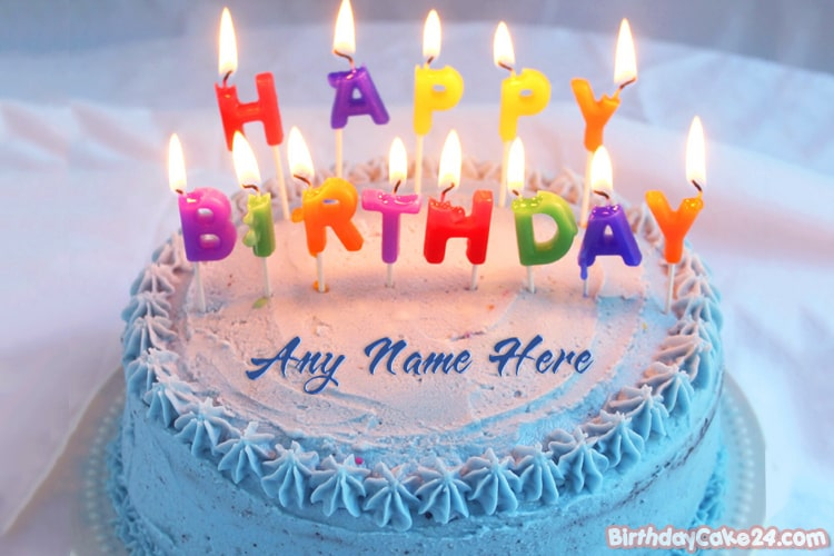Terrific Birthday Cake Lots Of Candles With Name Pictures Birthday Cards Printable Benkemecafe Filternl