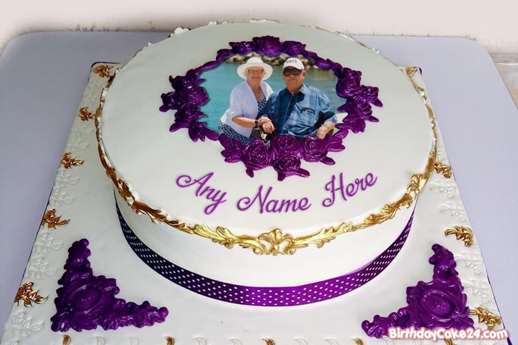 Name Photo On Luxury Birthday Cakes Pics