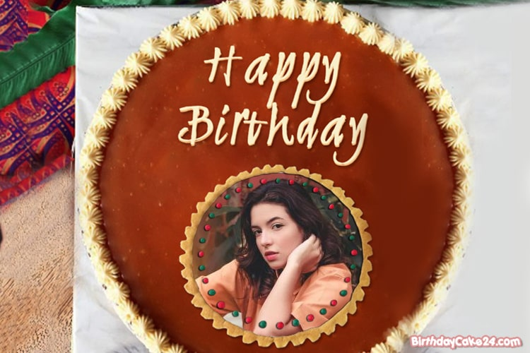 Marvelous Best Chocolate Birthday Cake With Photo Frames Funny Birthday Cards Online Alyptdamsfinfo