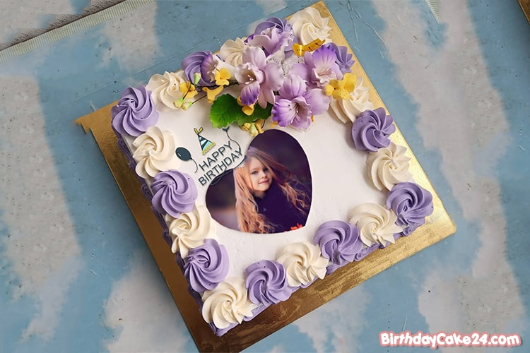 Best Lovely Birthday Cake Photo Frames