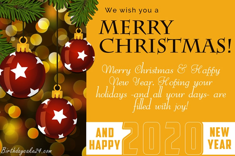 Merry Christmas 2020 Wishes Merry Christmas And Happy New Year 2020 Wishes