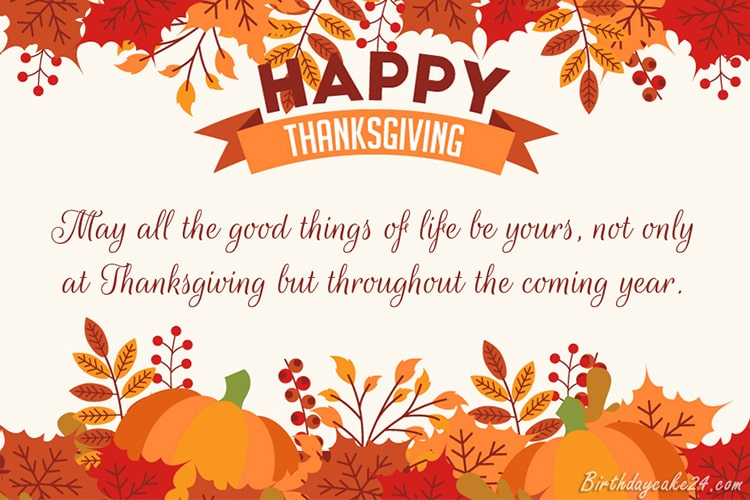 Free Thanksgiving eCards & Greeting Cards 2020