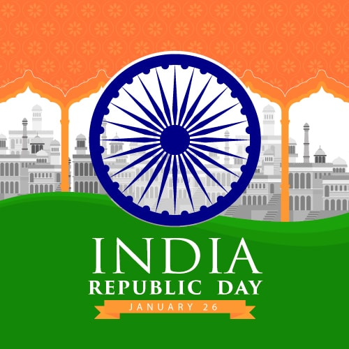 Republic Day India 2020 Cards