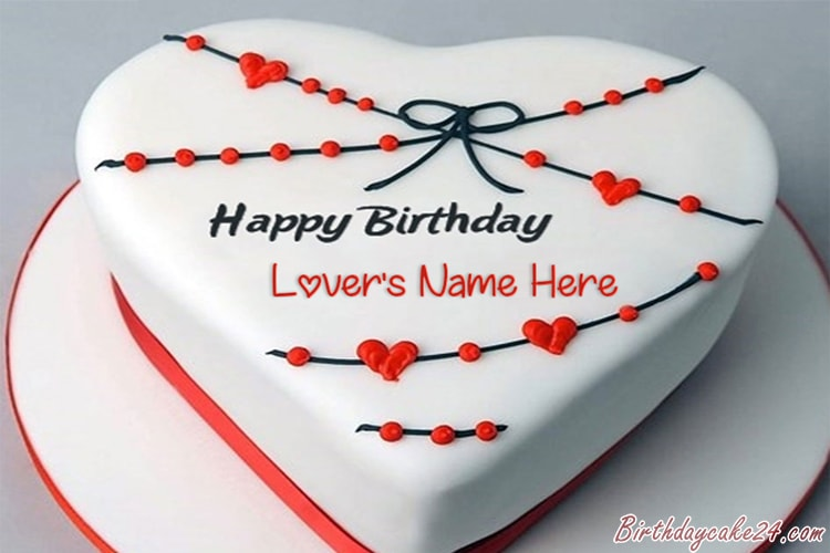 Peachy Best Collection Of Happy Birthday Cakes For Lover Page 3 Personalised Birthday Cards Veneteletsinfo