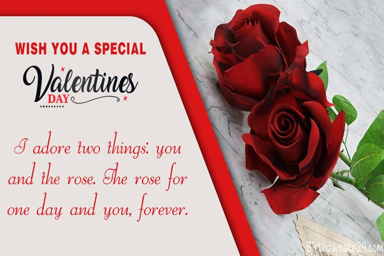 Best Valentine's Day Rose Greeting Cards Free Download