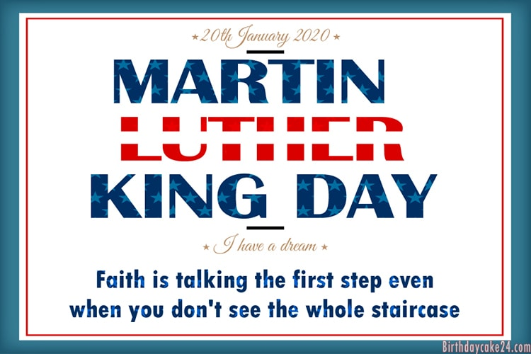 Free Martin Luther King Day Cards Images