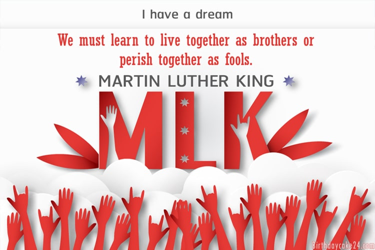 MLK eCards - Free Martin Luther King Day Greeting Cards