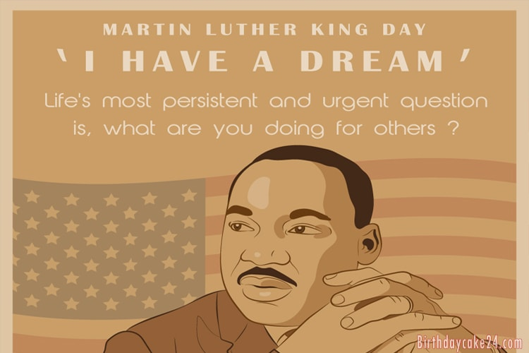 Vintage Martin Luther King Day Greeting Cards Online