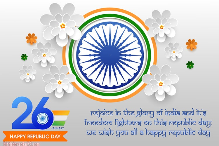 Generate Indian Republic Day Cards Images