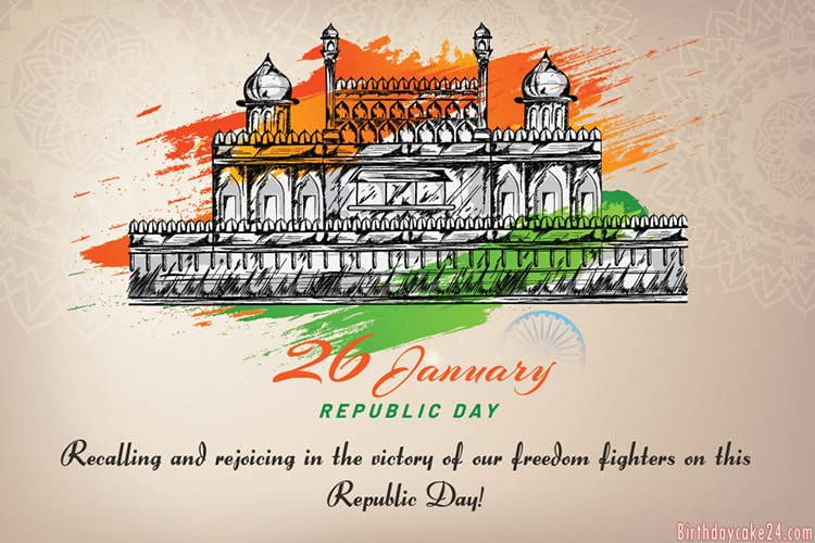 Make Republic Day [India] Wishes Cards Online Free