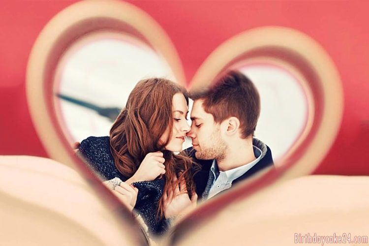 Sweet Heart Love Photo Frames Free Download