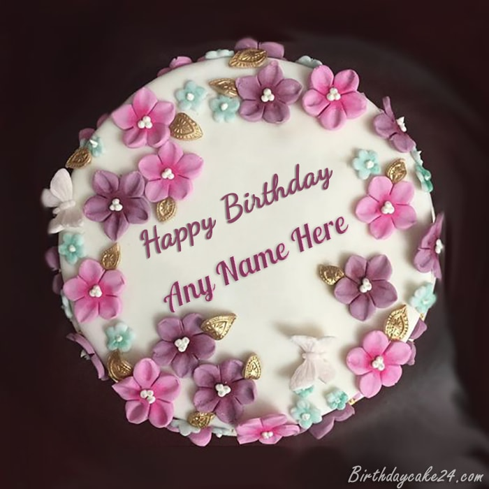 Birthday Cake With Name For Man My Amrita