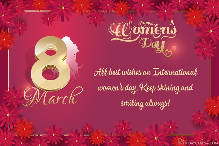 Personalize Special International Women's Day Cards