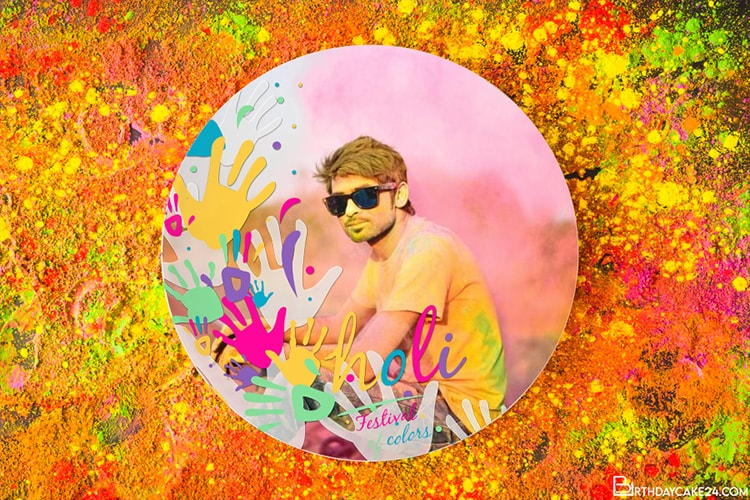 Happy Holi 2021 Photo Frames Free Download