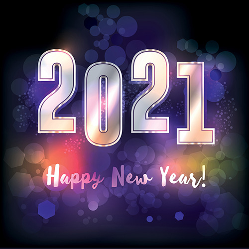 Happy New Year 2021 Card Images