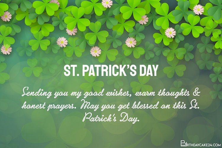 Customize St. Patrick's Day Greeting Cards Online Free