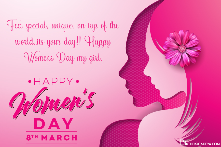 March 8 Card - Collection of Beautiful International Women's Day Wishes Cards