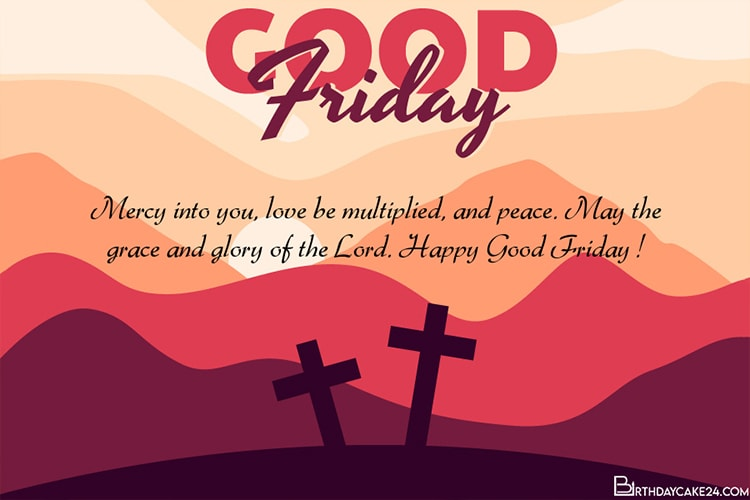 Genarate Good Friday Wishes Card Online Free