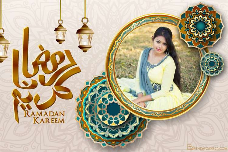 Happy Ramadan Mubarak 2021 Photo Frame Editor