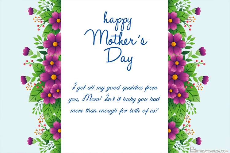 Beautiful Mother's Day Cards Images in 2021