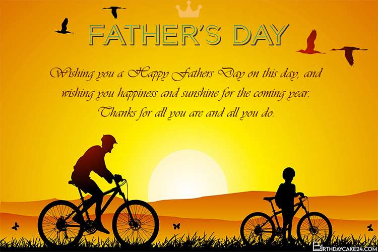 Happy Fathers Day Greeting Cards Free Download