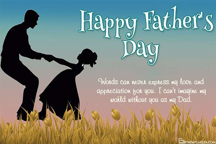 Make Happy Father's Day Card From Daughter
